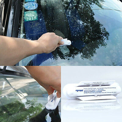 Useful Car Windshield Glass Water Rain Repellent Treatments Application Repels