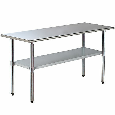 "30"" x 72"" Commercial Work Table Stainless Steel Food Prep Kitchen Restaurant"