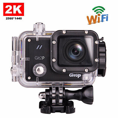 GitUp Git2P Pro Packing Novatek96660 Wifi 2K HD 1080P 60fps Sports Action Camera