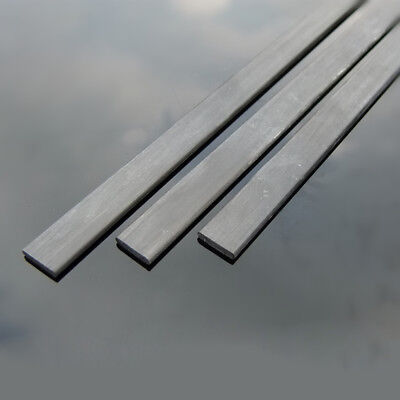 Length 200mm To 400mm x 0.5mm To 2mm Width Carbon Fibre Square Sheets