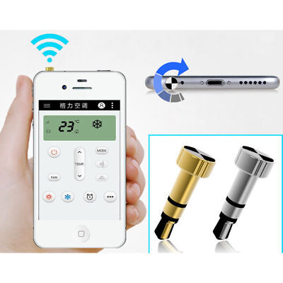 Silver Intelligent Dust Plug Electronic Devices Remote Control For Iphone/IPad