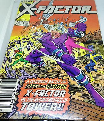 C198 X-Factor Volume:1 (No:2) Mar 1986 Marvel Comics