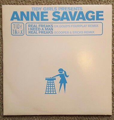 Anne Savage - Real Freaks. Tidy Trax
