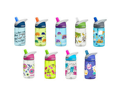 CAMELBAK EDDY KIDS NON SPILL WATER BOTTLE 400ml BPA & BPS FREE DISHWASHER SAFE