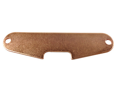 Stratocaster Strat single coil baseplate copper plated steel