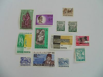 L1668 - Collection Of Mixed Indonesia Stamps