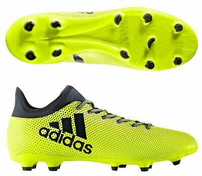 1d4355821e5 Adidas Mens Shoes Soccer Cleats X 17.3 Firm Ground Football Yellow S82366  New