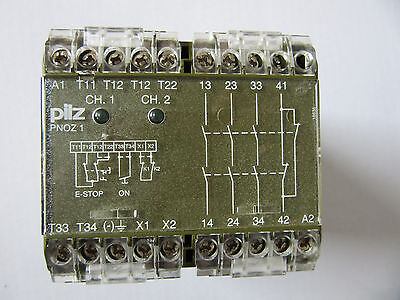 Pilz 475650 Safety Relay PNOZ 1 3s 1O VGC!!! Free Shipping