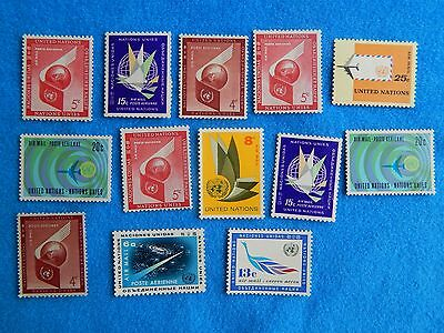NM Collections- MNH EXCITING UNITED NATIONS VINTAGE AIRMAIL STAMPS Lot 803