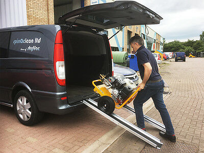 Telescopic Ramps with Black Grip Surface