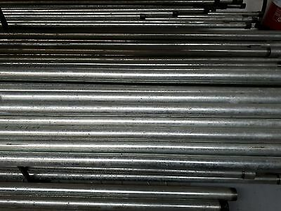 "Galvanised Pipe Cut Lengths To En10255/Bs1387 1/2"" To 2""Nb Size"