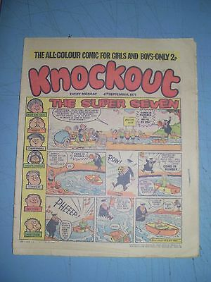 Knockout issue dated September 4 1971