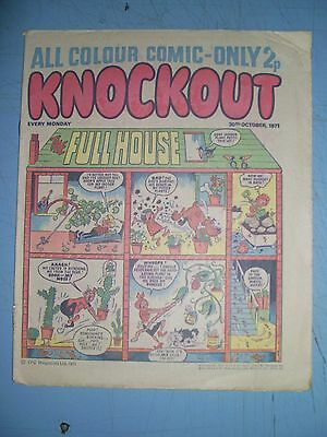 Knockout issue dated October 30 1971