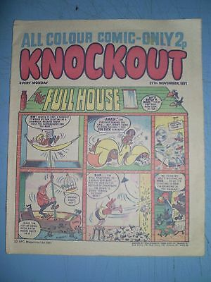 Knockout issue dated November 27 1971