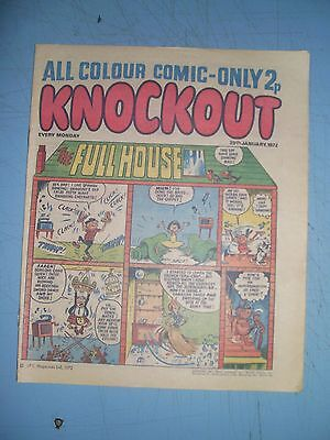 Knockout issue dated January 29 1972
