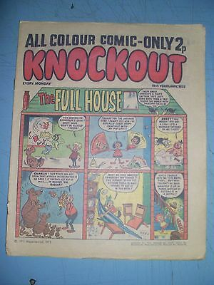 Knockout issue dated February 19 1972