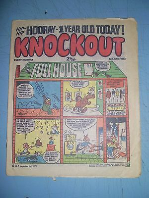 Knockout issue dated June 3 1972