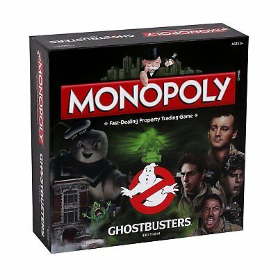 Ghostbusters Monopoly Family Board Game Brand New Sealed