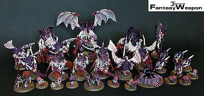Tyranids Army Pro Painted Hive Fleet Leviathan  wh40k