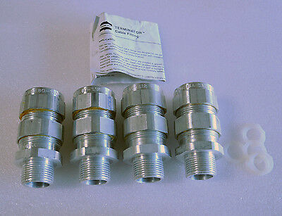 """TMC 3112 Cooper Crouse Hinds Terminator Cable Fitting, 1"""",  Box of 4"""