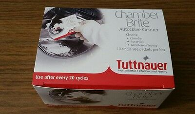 Tuttnauer Chamber Brite Autoclave Cleaner (3 boxes)