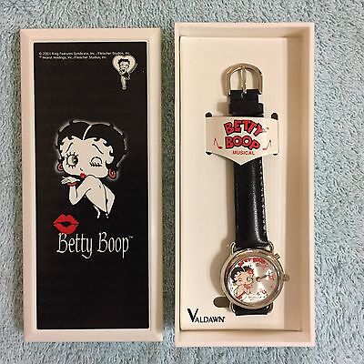 Betty Boop, 2001 Valdawn Betty Boop Musical Watch. New In Box!