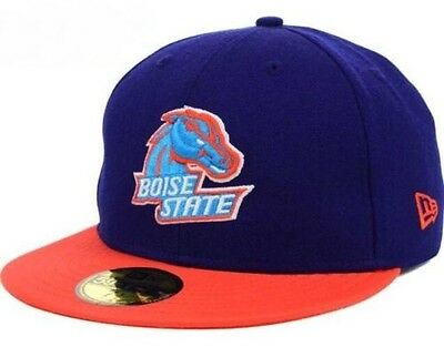 uk availability fb580 3abd0 Boise State Broncos NCAA New Era 59FIFTY Men s Fitted Cap Hat - Size  7 3