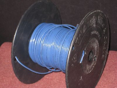 Hookup - Layout wire: 18 AWG, blue, Stranded. 600V rated. about 200 Ft. on reel