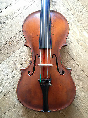 Beautiful Antique Violin, XIX sec. SOUND SAMPLE violino antico old