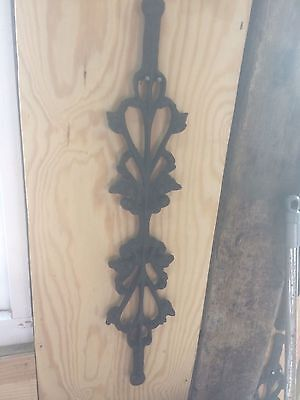Vintage decorative cast iron
