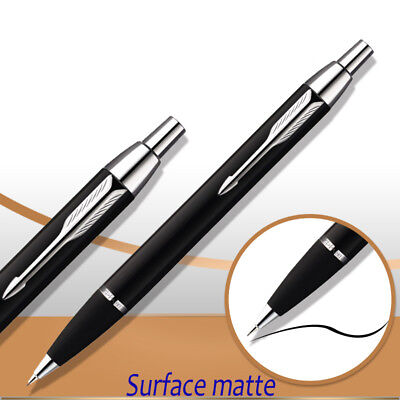 Parker IM Ballpoint Pen Silver Clip Business 0.5mm Black Matte Ball point Pen 3