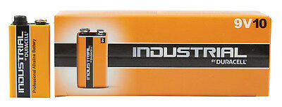 DURACELL Duracell Industrial 9V - Box10 NEW