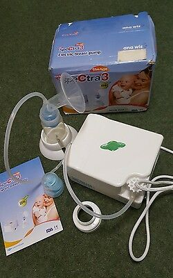 Spectra 3 Electric Breast Pump with bottle - converts to double pump
