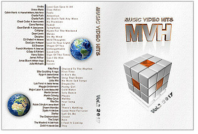 Music Videos Hits Vol 2 2017 DVD - 40 Various Artists,  Compilation