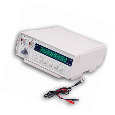 Frequency Counter, RISEPRO Digital Bench Frequency Signal Meter with AC Power Ca