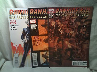 Rawhide Kid The Sensational Seven Marvel Comics issues 1 2 3