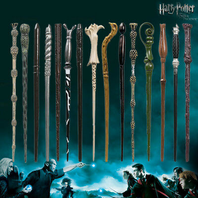 Harry Potter Magic Wand Hermione Dumbledore Voldemort Film Replica Cosplay Boxed