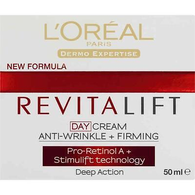 L'Oreal Revitalift Day Cream Anti-Wrinkle + Firming Deep Action 50mL