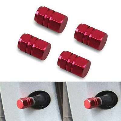 4Pcs Aluminum Tire Wheel Rims Stem Air Valve Caps Tyre Cover Car Truck Bike Tool