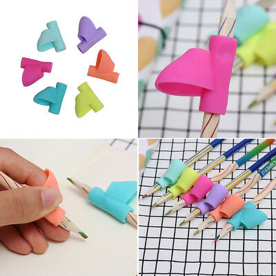 3PCS/Set Children Correction Tool Pencil Holder Pen Writing Aid Grip Posture
