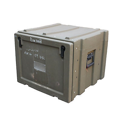 Ex-Aust Army Trimcast Pelican Hard Shell Case, Pelican Trunk Pelican Container