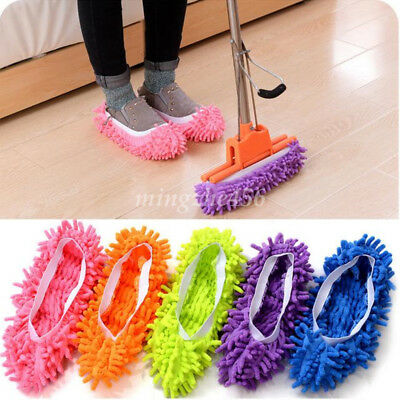 1Pcs Practical lazy Mop Slippers Dust Floor Cleaning Mopping Foot Shoes Home DIY
