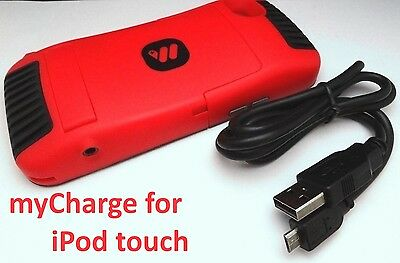myCharge for iPod Touch 4th Gen Portable Game Power 1500mAh Battery in Case