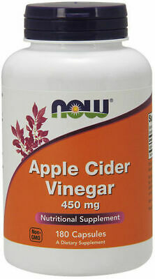 Now Foods Apple Cider Vinegar 450 mg - 180 Capsules, Weight Management