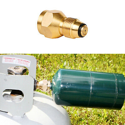 Propane Refill Adapter Lp Gas 1 Lb Cylinder Tank Coupler Heater Bottles