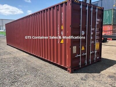 "40' 9' 6"" High Cube New Build Shipping Container ex MEL"