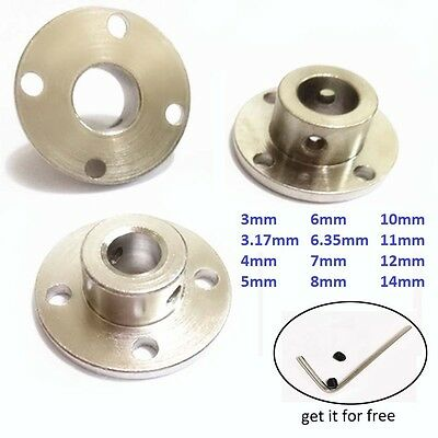 Rigid Flange Coupling Motor Guide Metal Shaft Coupler Support Fixed Bearing Seat