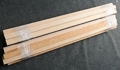 9x 1m Beech Wood Hardwood Timber Off cut blanks lengths for turning and woodwork