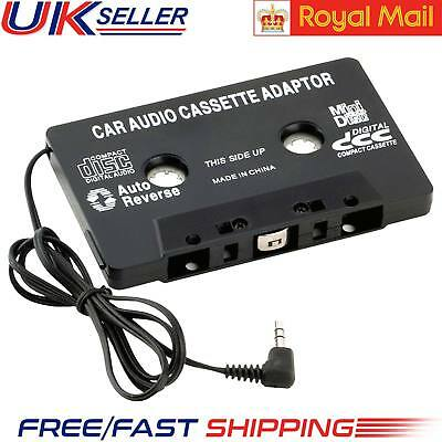 New Audio Tape In Car Cassette Adapter To Jack AUX For MP3 iPod iPhone Converter