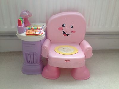 fisher price laugh and learn chair 163 5 00 picclick uk